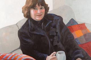 Agnes Ivan - acrylic on canvas, 48 x 48 in, 122 x 122 cm, 2002, $3000