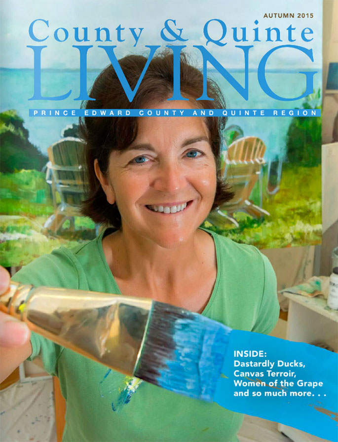 County & Quinte Living Cover Autumn 2015